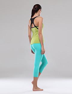 vrouwen yoga pakken met chast pad ademende / sneldrogend / anatomische ontwerp / wicking / compressie als beeld