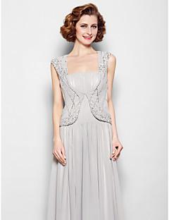 Women's Wrap Vests Chiffon Wedding / Party/Evening Beading