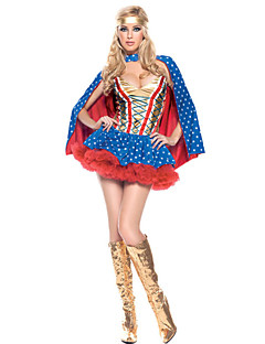Role-playing Superwomen Halloween Female Movie & TV Theme Costumes