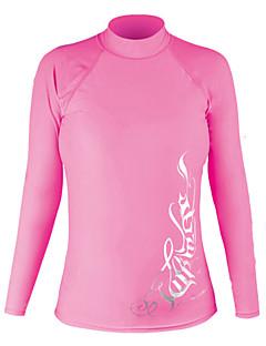 女性用 - 防水/高通気性/抗紫外線/保温/ビデオ圧縮/軽量素材 - キャンピング&ハイキング/フィットネス/レーシング/ビーチ/サイクリング/クロスカントリー - トップス ( ライトピンク ) - 長袖