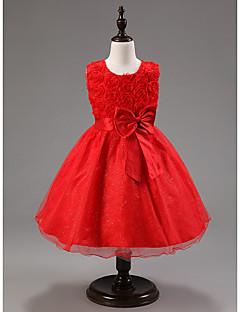 На каждый день/Очаровательный/Для вечеринки - KID - Платье ( Смесь хлопка