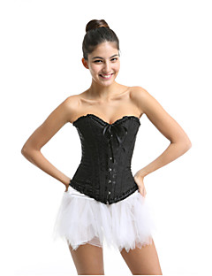 Clothin Women's Corset Bustiers Top Sexy Lingerie