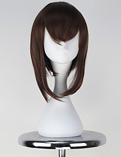 Cosplay Wigs Kantai Collection Cosplay Brown Short Anime/ Video Games Cosplay Wigs 38 CM Heat Resistant Fiber Female