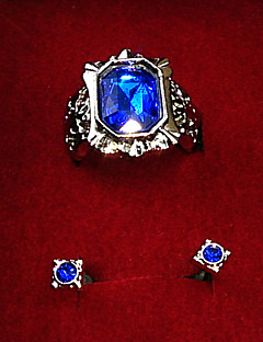 Jewelry Inspired by Black Butler Ciel Phantomhive Anime Cosplay Accessories Earrings Blue Alloy / Artificial Gemstones Male / Female