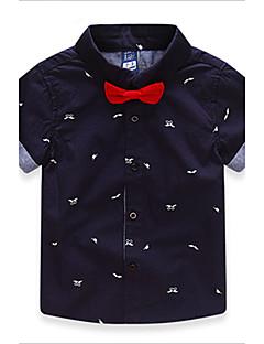 T-shirt-Chłopca-Lato / Wiosna / Jesień-Nadruk-Bawełna / Mieszanka bawełny