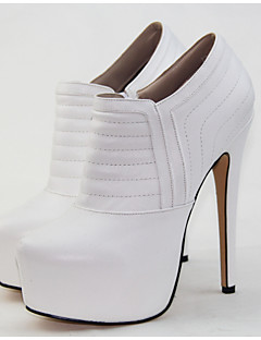 Women's Shoes  Heel Heels/Platform/Round Toe Pumps/Heels Wedding/Outdoor/Office & Career/Party & Evening White