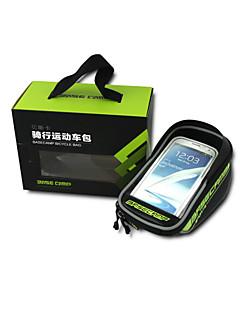 Basecamp® תיק אופניים 2.5LLתיקים למסגרת האופניים / טלפון נייד תיק / תיקים לכידון האופנייםעמיד למים / מוגן מגשם / פס מחזיר אור / עמיד לאבק