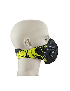 Pollution Protection Mask Bike Dust Proof Unisex Velvet / Cotton