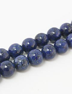 Beadia 39Cm/Str (Approx 48Pcs) Natural Blue Lapis Lazuli Beads 8mm Round Stone Loose Beads DIY Accessories