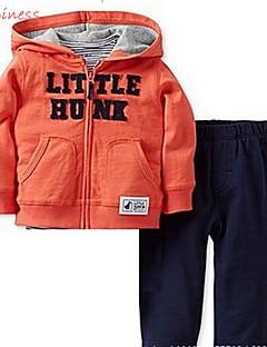 Boy's Cotton / Polyester / Denim Clothing Set,Winter / Spring / Fall