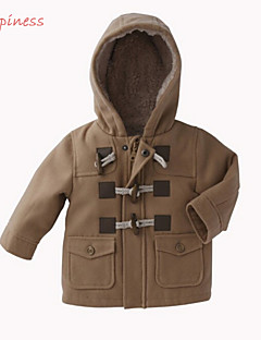 Boy's Polyester / Cotton Blend Jacket & Coat,Winter / Spring / Fall Solid