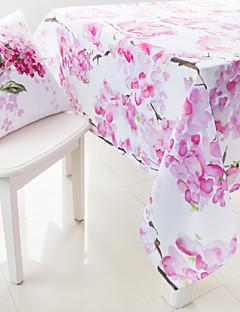 peinture à l'aquarelle fleur de tissu de table imprimés