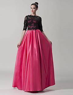 시스/컬럼 - 스쿱 - 바닥 길이 - 드레스