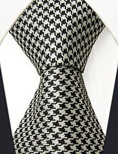 Férfi Minden évszak Selyem Vintage Bájos Party Munkahelyi Alkalmi Nyakkendő