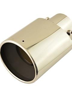 """3 """"x 2,8"""" inlopp rostfritt stål oval avgassystem svans ljuddämpare tips för Toyota RAV4"""