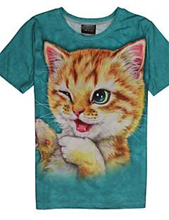 Ronde hals - Katoen Vrouwen - T-shirt - Korte mouw