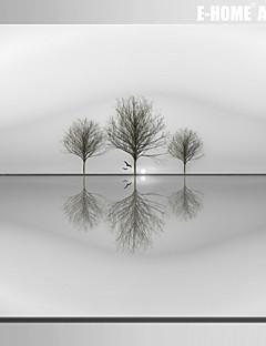 e-FOYER toile tendue es le reflet d'une peinture décorative de l'arbre un pcs