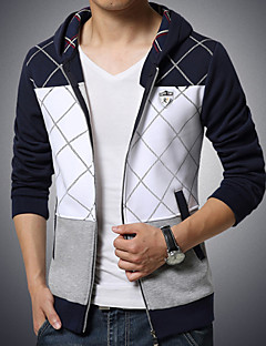 Men's Sports Stitching Hooded Sweatshirt