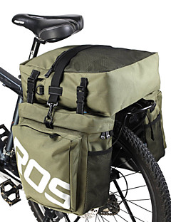 ROSWHEEL® Bike Bag 35LPanniers & Rack Trunk Waterproof / Rain-Proof / Waterproof Zipper / Moistureproof / Wearable / 3 In 1 Bicycle BagPU