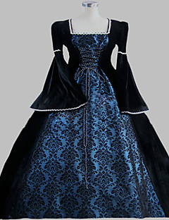 Steampunk®Gothic Victorian Dress Period Dress Long Ball Gown Stage Costume