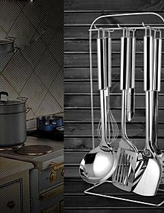 rozsdamentes tésztaszűrő lehet akasztós, kanál, spatula, sütés lapáttal, 4pcs egy készlet