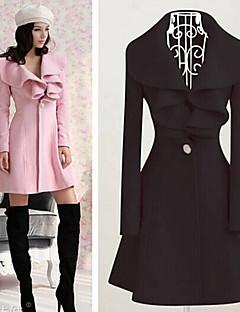 WOMEN - セクシー / カジュアル / 仕事 - コート&ジャケット (ポリエステル / ニット テーラードカラー - 長袖