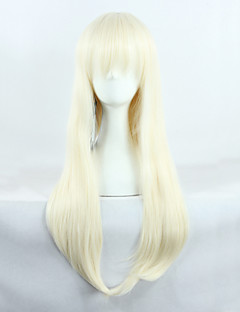 Bleach Rurichiyo Kasumioji Cream Golden 65cm Cosplay Wig