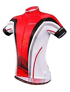 Åndbart / Hurtigtørrende / wicking / Komprimering / Tilbage Pocket - Kort Ærme - Dame / Herre / Unisex - Cykling / Motorcykel -Toppe /