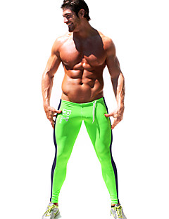 Men's Running Pants/Trousers/Overtrousers Tights Leggings Bottoms Spring Summer Fall/Autumn WinterYoga Pilates Exercise & Fitness Leisure