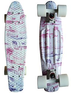 Kiefer Grafik gedruckt Kunststoff-Skateboard (22 inch) Cruiser-Board mit ABEC-9 Lager