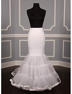 Déshabillés Robe sirène et robe évasée Mollet 3 Nylon Filet de tulle Tulle Blanc