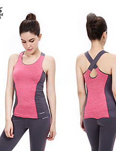 Ioga Conjuntos de Roupas/Ternos Calças + Tops Respirável Stretchy Wear Sports Mulheres - OUDIKE Ioga
