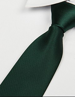 σκούρο πράσινο για ενήλικες twill γραβάτα γραβάτα ζακάρ βέλος