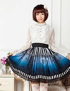 Blue  Halloween  Lolita  Skirt Lovely Cosplay