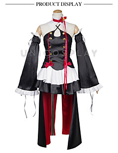 Seraph of the End Owari No Serafu Krul Tepes Vampire Queen Cosplay Costume