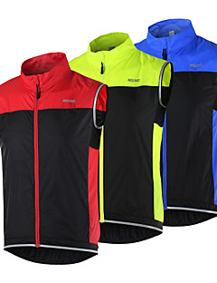 ARSUXEO® Cycling Vest Women's / Men's / Unisex Sleeveless BikeBreathable / Quick Dry / Windproof / Lightweight Materials / Reflective