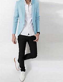 Men's Long Sleeve Regular Blazer , Cotton Pure