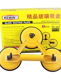 150kg צלחת יניקת שלוש זכוכית -טופרים סגסוגת אלומיניום באיכות גבוהה כלי rewin®