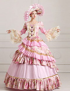 Costumi Cosplay Da principessa / Costumi a tema di film e TV Feste/vacanze Costumi Halloween Rosa Abito / CappelliHalloween / Natale /
