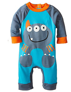 1-24M Spring Autumn Cotton Fabric Infant Baby Boy Girl Rompers Jumpsuit Toddler Newborn Clothing
