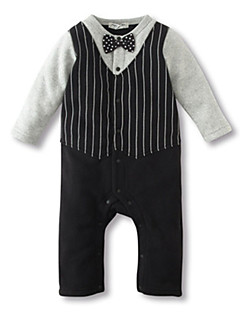 Newborn Baby Boy Long Sleeve Clothing Set Rompers Stripe Suit Toddler Infant Jumpsuit