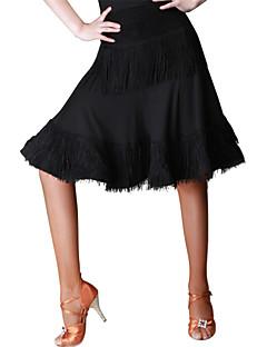 Latin Dance Bottoms Women's Lace / Milk Fiber Lace 1 Piece