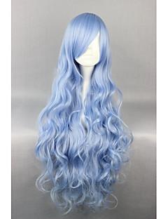 Парики для Лолиты Сладкое детство Синий Elegant Парики для Лолиты 90 См Косплэй парики Однотонный Парики Назначение