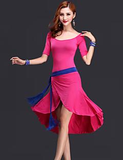 ベリーダンス ワンピース 女性用 演出 レーヨン ドレープ 3個 ドレス ベルト ショートパンツ