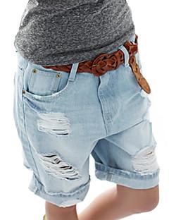 sagetech® kvinners hull dongeri korte bukser
