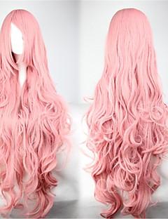 Sød Lolita 90CM Lang / Ekstra Lang Pink Lolita Wig