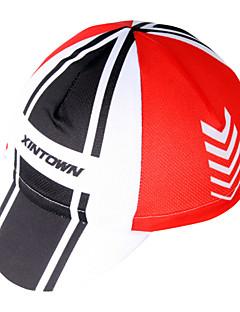 싸이클링 캡 모자 자전거 통기성 빠른 드라이 자외선 방지 안티 발광 초경량 재질 초경량 패브릭 땀 흡수 기능성 소재 선크림 남녀 공용 레드 100% 폴리에스터