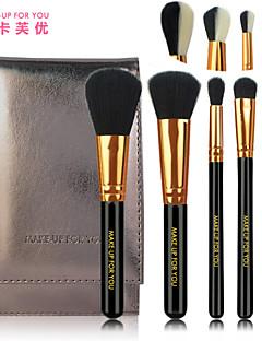 5 Set di pennelli Capelli sintetici Portatile / Viaggi Legno Viso / Occhi / Labbro MAKE-UP FOR YOU