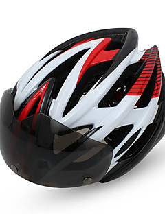 BATFOX Integrally Molded Male and Female Models Glasses Bike Helmet Mountain Bike Riding Equipment -F619