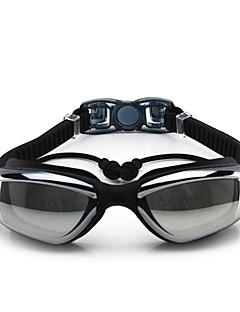 FEIUPE svømmebriller Dame Herre Unisex Anti-Tåge Vandtæt Justerbar Størrelse Anti-UV Polariseret Linse Silika Gele PCLyserød Sort Blå